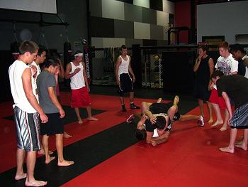 MMA Throwdown Kids