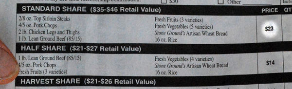utah food co-op prices