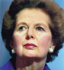 margeret thatcher