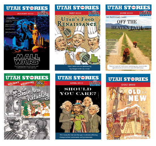 utah stories covers