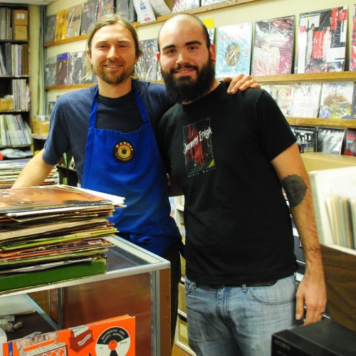 Tom Stinson  and Kris Rounds  of Randy's Records