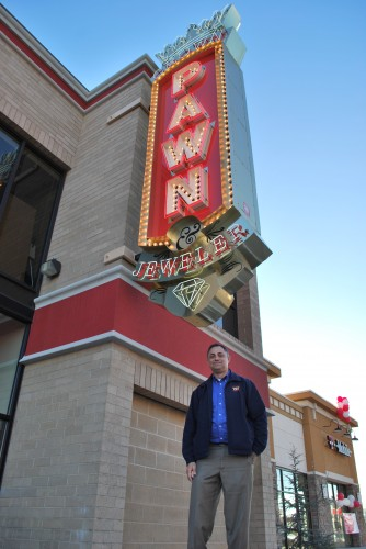 Mike Katzinavis  Owner of Crown Pawn