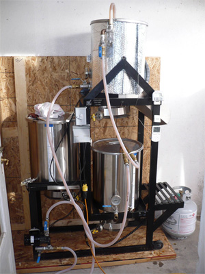 Homemade beer brewing kit homemade ftempo for Hillside elevator kit
