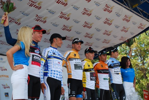 Participants in the Tour of Utah