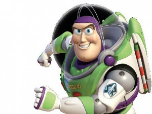 Buzz lightyear from the movie Toy Story
