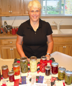Mary Smith's award-winning jars