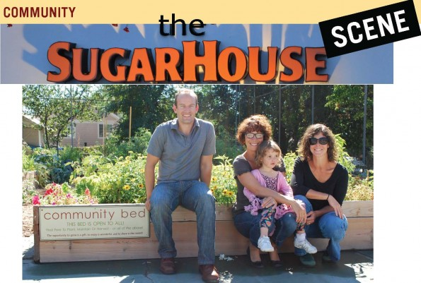 Sugar House Community Gardens in Salt Lake City Utah