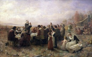 The Story of the Pilgrims immigrating to America on the Mayflower