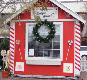 Santa's home in Sugar house - Utah