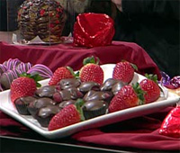 chocolate covered stawberries