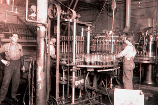The Fisher Brewery Company Bottling House, circa 1940