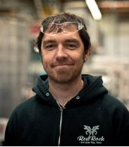 Kevin Templin, Brewmaster at Red Rock Brewery.