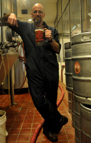 No, not Walter White of Breaking Bad.  Steve Kirkland B (Head Brewer for Roosters)