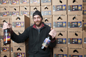 Trent Fargher Masterbrewer/Owner. Shades of Pale can now be found in most grocery stores including Harmon's and Smith's.