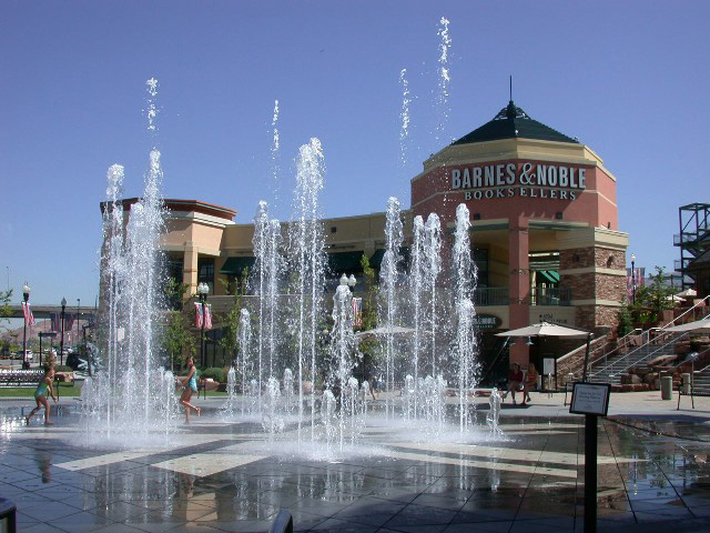 Gateway fountains