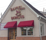 Banburry Cross Donuts, located at 705 S 700 E