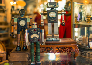 Robot Creations at Liberty Park Emporium