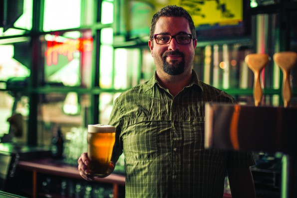Hoppers Brew Pub owner Donovan Steel