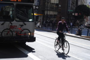 Bike commuters & public transportation mesh together in San Francisco - Image 1