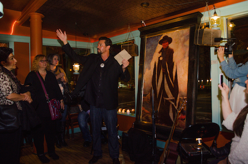 Sean Diediker at Medicine Man unveiling 3