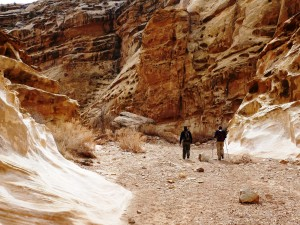 Hiking Crack Canyon (San Rafael Swell)